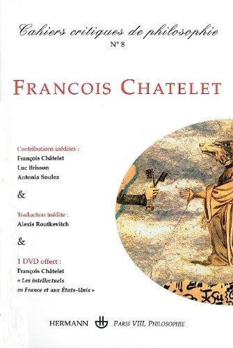 Cahiers Critiques de Philosophie N 8