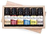 Best Edens Garden Essential Oil Blends - Top 6 Essential Oil Synergies Sampler Set 100% Review
