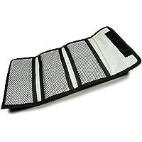 Filtre protecteur - Sacoche de Protection Petit, portefeuille à 6 poches pour filtres 25 - 82mm pour Canon Nikon Sony Pentax etc. DSLR Camera lentilles