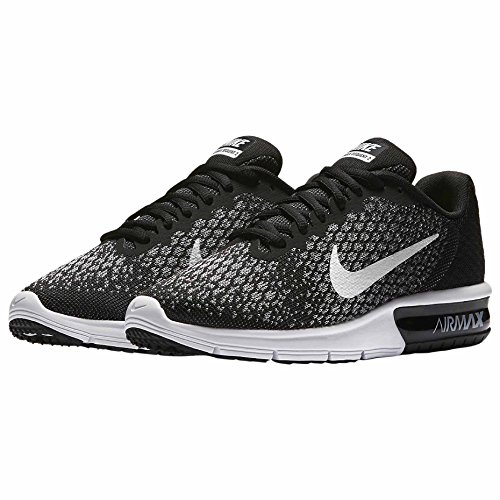 Nike Damen Wmns Air Max Sequent 2 Laufschuhe Black
