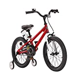 "Best Vélo Freestyle - Royal Baby Freestyle Vélo Mixte Enfant, Rouge, 16"" Review"