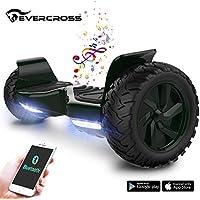 """EVERCROSS Balance Board Challenger Basic 8,5"""" Gyropode Tout-Terrain Smart Skateboard Électrique"""