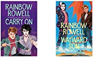 Carry On (Simon Snow 1)+Wayward Son (Set of 2 Books)