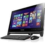 Lenovo B550 58,42 cm (23 Zoll) All-in-One Desktop-PC (Intel Core i5-4440, 3,3 GHz, 8GB RAM, Hybrid 1TB HDD (8GB SSHD), AMD Radeon HD8570A / 2 GB, Touchscreen, Win 8.1) schwarz