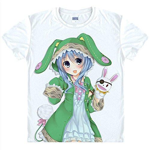 Kostüm A Yoshino Cosplay Date Live - Date A Live Yoshino T-Shirt Kostüm Cosplay