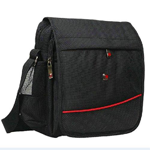 Yy.f Di Oxford Gli Uomini Sacchetto Di Affari Nuova Marea Di Moda Spalla Messenger Bag Esterno Borsa Sportiva Per Il Tempo Libero Uomini Zaino Black