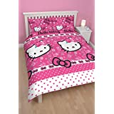 Character World Hello Kitty Sommer Wind Juego de cama doble