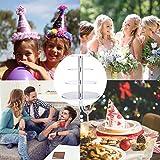 Cupcake Ständer, Kuchenständer 4-Stufig Acryl Halten sie Cupcakes Desserts für Nachmittagstee Party Baby Duschen Hochzeiten (Runde) - 6