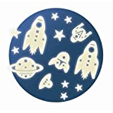 Djeco 54591 - Stelle luminose Glow in The Dark Space Mission Set, multicolor