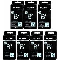 Preisvergleich für Billy Boy B² Extra Dünn 100+5 Kondome (7er-Pack à 15 Stück)