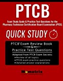 #2: PTCB Exam Study Guide: Quick Study & Practice Test Questions for the Pharmacy Technician Certification Board Examination (PTCE)