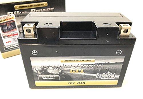 Batteria a gel YT9B-4, da 12 V 8 Ah (150 mmx 65 mmx 102mm), per moto