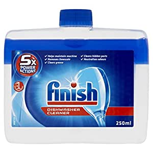Finish Dishwasher Cleaner Twin Pack, 2 x 250ml