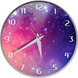 ESLAY® Round Analogue Wooden Wall Clock For Home/Bedroom/Office/Kids Room/Living Room (Multicolor)