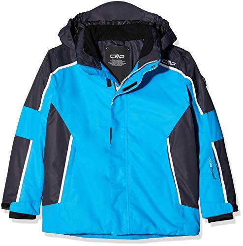 CMP Kinder Feel Warm Flat 3.000 Skijacke, Cyano, 140