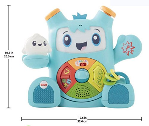 Fisher-Price Everything Baby Rhythm Rockit Baby Ritmo, Mehrfarbig, FXD04