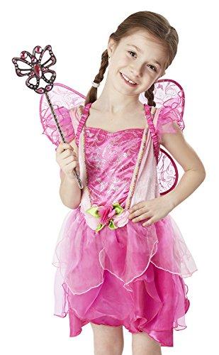 39 - Blumenfee-Kostüm (Halloween-kostüme Für 3 Yr Old Girl)