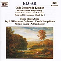 Elgar: Cello Concerto / Introduction And Allegro / Serenade For Strings