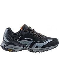 3b0e7a846f4f13 Hi-Tec Kangri Low WP Herren Outdoor Wanderschuhe Schuhe Schwarz Trail  Trekking Waterproof Wasserdicht