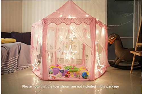 Outdoor Indoor Princess Castle Play Tents ... & Outdoor Indoor Princess Castle Play TentsShayson Large Playhouse ...