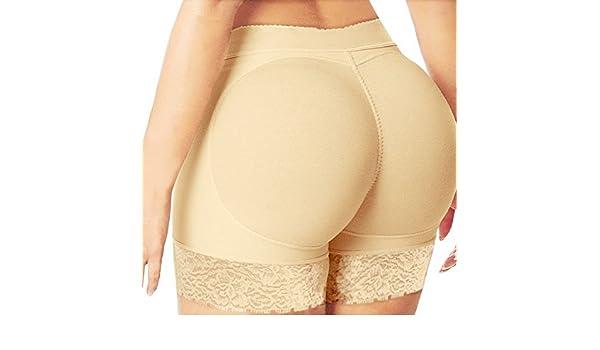 366f21d9c6ee Freeshine Women's Artificial Ass Body Shaper Padded Pantie (Large): Amazon. in: Garden & Outdoors