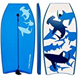 "Best Body Board For Kids - GYMAX Body Board 42""(106cm) EPS+IXPE Lightweight Bodyboard Beach Review"