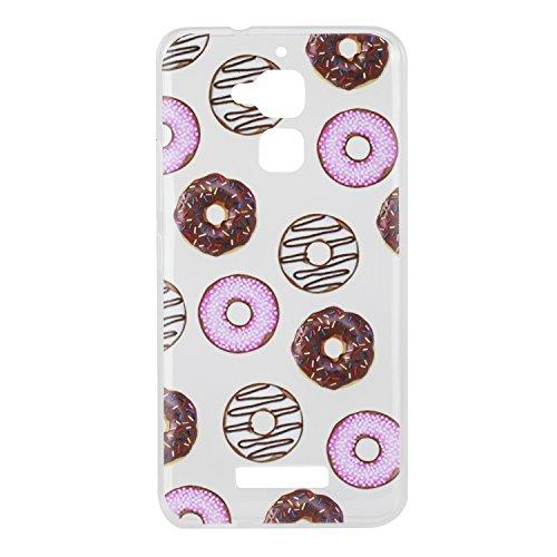 Voguecase® für Apple iPhone 7 4.7 hülle, Schutzhülle / Case / Cover / Hülle / TPU Gel Skin (Lace Blume 02) + Gratis Universal Eingabestift Donuts 05