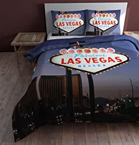 sleeptime bettw sche las vegas 200x200 220 lila mit 2 kissenbez ge 60x70 k che. Black Bedroom Furniture Sets. Home Design Ideas