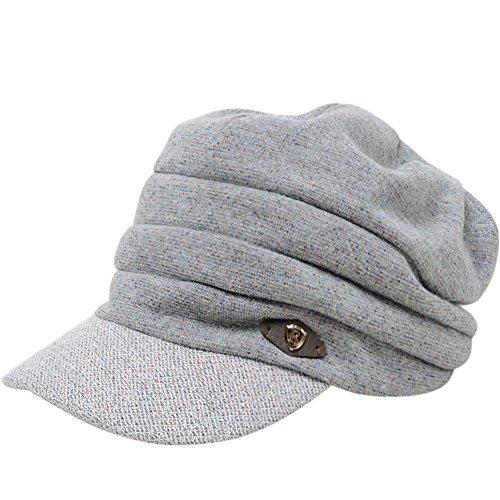 Ji Beilei pour chapeaux automne/hiver/Cap pliante Slim/Chapeaux de mode A