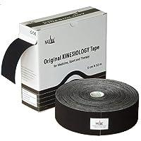 Nasara KT5G Original Kinesiology XXL Tape (5 cm x 32 m), Schwarz preisvergleich bei billige-tabletten.eu