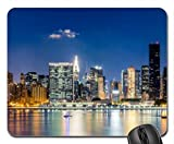 night over midtown manhattan Mouse Pad, Mousepad (Skyscrapers Mouse Pad)