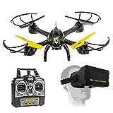 Drone Quadricottero 4ch Camera Visore 3D 2.4 GHz VR Mask Ultradrone X40.0 Mondo