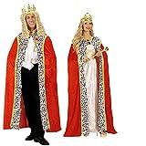 Karneval-Fasching-Shop König Königin Edeler Königsumhang Königsmantel Prinz 150cm