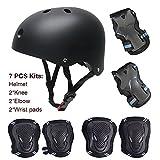 SKL Kinder Scooter Hoverboard BMX Bike Helm, Hand-Knie, Ellenbogen Pads und Gel Pads
