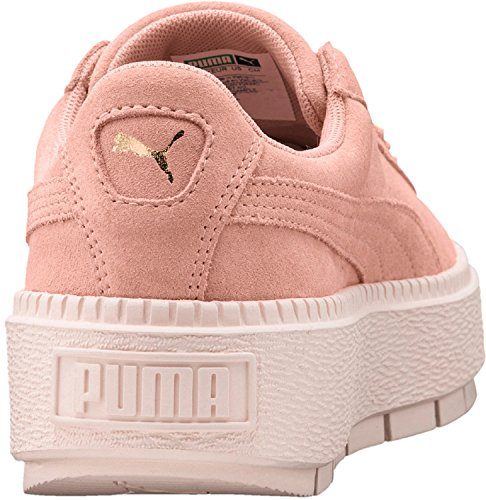 Puma Suede Platform Trace W's 36583005, Scarpe Sportive rosa beige
