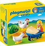 PLAYMOBIL 6965 - Bäuerin mit Hühnern