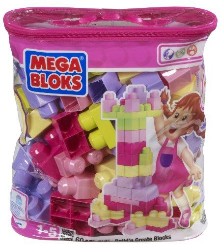 Mega Bloks - Bolso de bloques rosa