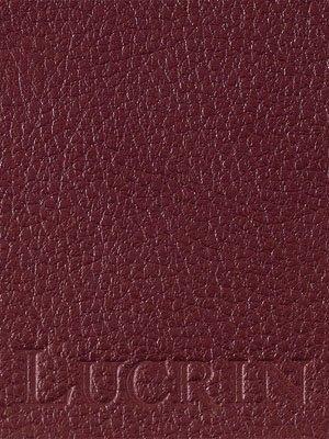 Lucrin - Kreditkarten- und Visitenkartenetui - Leder genarbt Weinrot