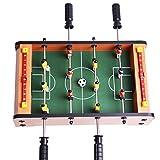 Mini-Fußballtisch MDF Durable Spiel Viel Spaß 36.5 cm x 21.5 cm x 9cm Geburtstag Urlaub Geschenke (MINI FOOTBALL)
