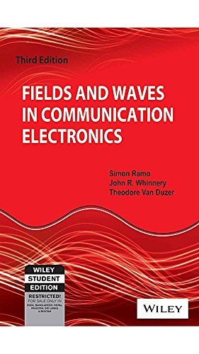 Fields and Waves in Communication Electronics, 3ed