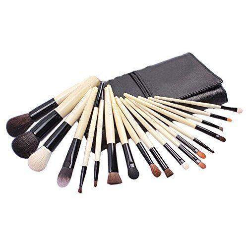Hrph 18pcs Professionelles Pinceaux de Maquillage Brosses Cosmétiques Teint Poudre Eyeliner Top Quality Makeup Brush Set
