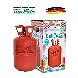Party Factory Helium Ballongas für 30 Luftballons Set inkl. 30 Latexballons + 100m Ballonband 250 Liter