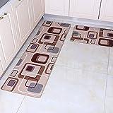 QAZ Küche Fußmatten Lange saugfähig Dämmmatte der Eingangstür Mat die Tür die Tür der Halle Schlafzimmer Badezimmer Kissen Foot Pad (Color #5)