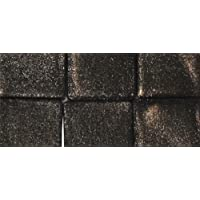 RAYHER Metallic 14543544Acrylic Mosaic 1x 1cm, approx. 205Pieces 50g Horse Chestnut Brown