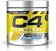 Cellucor C4 Original Idseries Pre-Workout, Icy Blue Razz, 30 Servings, 195 gm