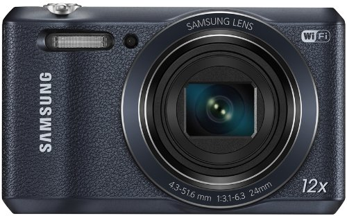 Samsung WB35F smart camera, 16 Megapixel, Zoom ottico 12x, display 2.7 pollici, Nero