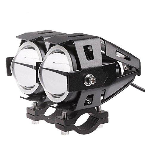 Preisvergleich Produktbild Lemonbest® Auto-Motorrad-LED-Scheinwerfer CREE U7 LED-Nebelscheinwerfer vorne Spot-Licht DRL Scheinwerfer Fahren Daytime Lights Blue Circle Packung mit 2