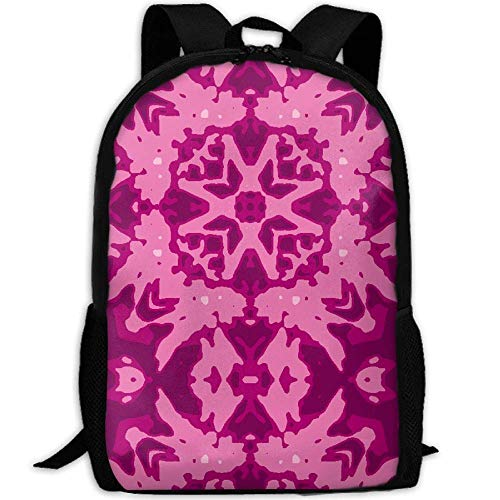 New Ink Butterfly and Star Crop 45 Multi Aster Picnik 3D Print Backpack College School Laptop Bag Daypack Travel Shoulder Bag for Unisex - Butterfly Crop