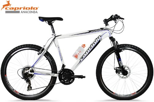 Capriolo Mountainbike 26 Zoll /Cross Country/, Shimano 21 Gang, Scheibenbremse, Hardtail, Modell 2013