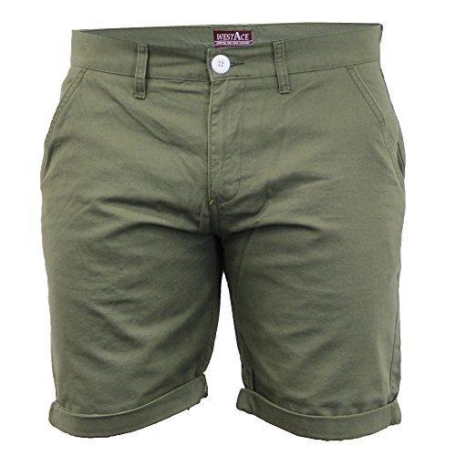 Herren Chino Shorts By Threadbare Khaki